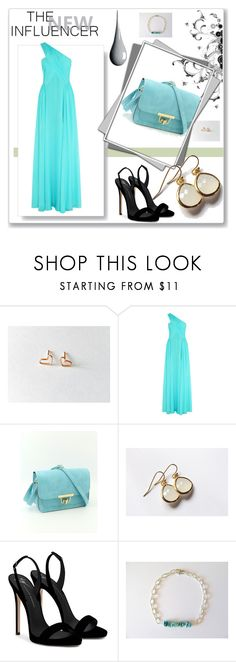 """""""Get Your Hoops on"""" by zerina913 ❤ liked on Polyvore featuring Matthew Williamson, Honour and Giuseppe Zanotti"""