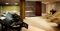 "#Mosaic: custom #mix #Vitreo, #Brillante (2 x 2 cm ∙ 3/4"" x 3/4"") ∙ #Karma 954 (2 x 2 cm ∙ 3/4"" x 3/4"") -  #Hotel Meliá ∙ #Hotel & #Spa ∙ Barcelona, Spain"