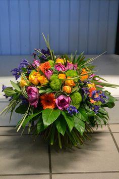Bouquet rond par Dominique Kwiatek.
