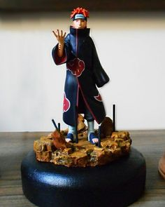 Pain Naruto Shippuden Diorama Anime Chibi, Anime Naruto, Naruto Shippuden, Boruto, Action Figure Naruto, Mario Wii, Pain Naruto, Anime Figurines, Miniature Figurines