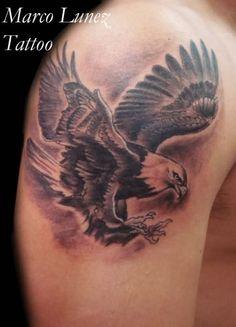 eagle in flight tattoo - Google Search