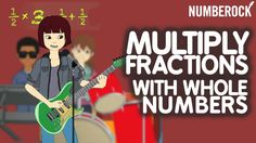 Multiplying Fractions with Whole Numbers Song by NUMBEROCK Sixth Grade Math, Teaching 5th Grade, 5th Grade Teachers, Teaching Math, Fourth Grade, Teaching Ideas, Math 5, Math Teacher, Math Classroom