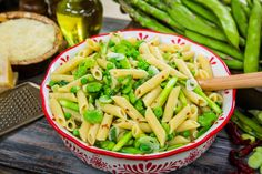 Refreshing Spring Pasta with favas, asparagus, and scallions! Recipe by chef and author Lidia Bastianich! Don't miss Home & Family weekdays at on Hallmark Channel! Pasta Dishes, Food Dishes, Side Dishes, Main Dishes, Pasta Recipes, Salad Recipes, Noodle Recipes, Lidia Bastianich, Vegetarian Recipes