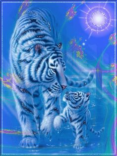 Have a relaxing afternoon. Cute Tiger Cubs, Cute Tigers, Tiger Images, Tiger Pictures, Tiger Wallpaper, Animal Wallpaper, Big Cats Art, Cat Art, Beautiful Cats