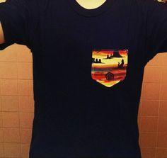 Southwestern Pocket Shirt by AweBeeDesigns on Etsy