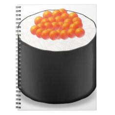 Miscellaneous - Japanese Sushi Rolls One Pattern Notebooks