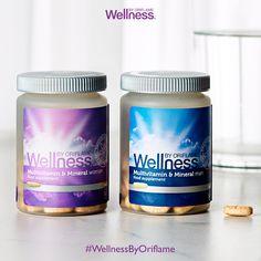 ¡Conoce nuestras fórmulas suecas y lleva una nutrición más saludable! Por ejemplo, éstas contienen más de 20 vitaminas y minerales