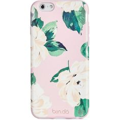ban.do Lady of Leisure iPhone 6 Case (€14) ❤ liked on Polyvore featuring accessories, tech accessories, phones, phone cases, cases, electronics and pink