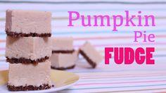 Holiday Pumpkin Pie Fudge (+playlist)