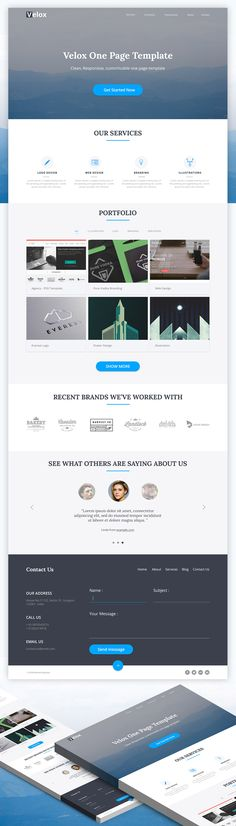 The 16 best Free HTML Website Templates images on Pinterest ...