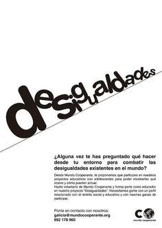 Exposición Solidaria. Desigualdades. ONG Mundo Cooperante. 2010.