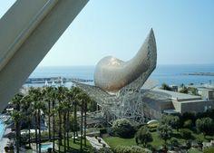 Hotel Arts in Barcelona - View, Fish, Gardens