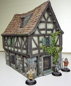 cianty's Tabletop Wargames Blog: Broom Binder House from Thomarillion