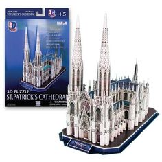 3D Puzzle - Saint Patrick's Cathedral: 41 pcs by Puremco