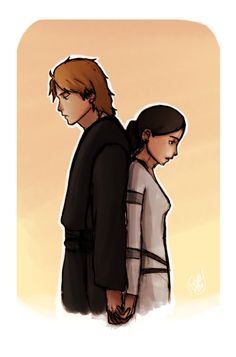 Anakin & Padme: a tragic love story. Largely untold,  but I've always imagined it as a beautiful catastrophe