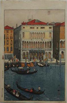 """Hiroshi Yoshida """"Venice"""""""