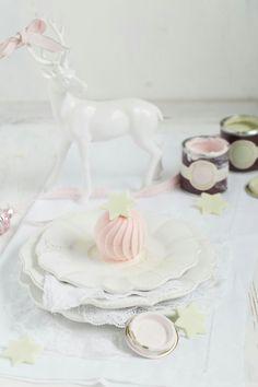 Cranberry Eis mit Limetten Mascaponecreme
