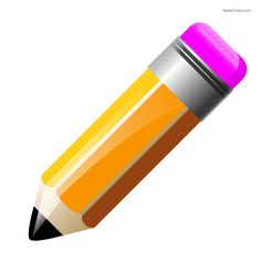 Pencil icon, free vector
