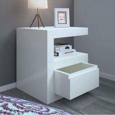 Bedroom Bed Design, Bedroom Furniture Design, Bed Furniture, Bedroom Decor, Modern Square Coffee Table, House Beds For Kids, Bedside Drawers, Luxurious Bedrooms, Home Decor