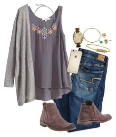 """""""I broke down today in the middle of class"""" by annagabriel on Polyvore featuring American Eagle Outfitters, Calypso St. Barth, George J. Love, Esse ut Esse, Rebecca Minkoff, Tory Burch, Fornash and Michael Kors"""