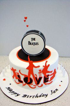 #the beatles #cake - By Martha Makes Cakes