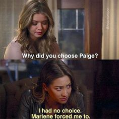 Pretty Little Liars Emily, Alison, Paige Love Triangle