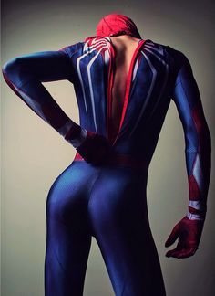 Spiderman Cosplay, Superhero Cosplay, Male Cosplay, Lycra Men, Sexy Geek, Lgbt, Men In Uniform, Halloween Disfraces, Handsome Anime
