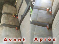 Comment nettoyer efficacement les sièges de votre voiture ?et  Ça marche nickel! Fait avril 16