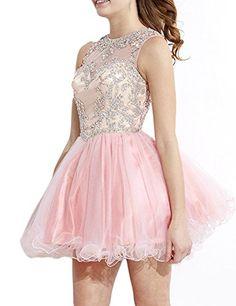 Wallbridal Blush pink Sheer Back Beaded Tulle Prom Dress ... https://www.amazon.com/dp/B01HHZEKX8/ref=cm_sw_r_pi_dp_8R5CxbQEQZM3Y
