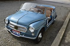 Bid for the chance to own a 43 Years-Owned 1961 Fiat Jolly at auction with Bring a Trailer, the home of the best vintage and classic cars online. Old Classic Cars, Classic Cars Online, Florida Apartments, Car Tags, Fiat 600, Mode Of Transport, Surrey, Antique Cars, Transportation