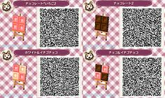 Sweets Village Path ACNL QR Code 5/5