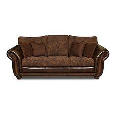 Sloane Leather And Fabric Sofa Lounge Pinterest