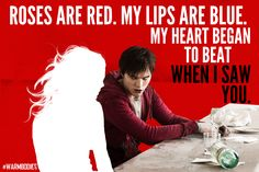 Zombie Pick-Up Lines: His V-Day poetry will melt your heart. Warm Bodies, Movie Titles, Movie Tv, Girls Best Friend, Best Friends, Pick Up Lines Cheesy, Best Zombie, Go To Movies, Tv Quotes