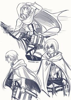 Armin Arlert. I particularly like the one where he has his hood pulled up.