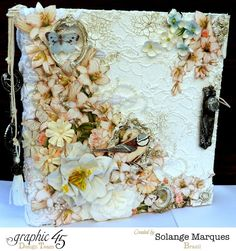 Solange Marques: Secret Garden- Mixed Media Album