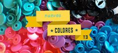 Colores T3 en Snapclic.es Colors