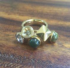 MelanO Twisted Tess ring. Wow! #MelanO #Twisted #ring #Tess