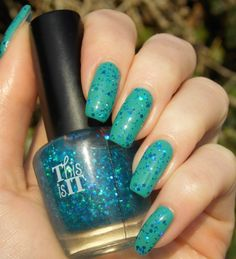 Green, Glaze & Glasses: Blue Saturday (Blue Friday) - This is it Mermaid