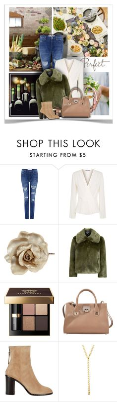 """Dinner Party Attire"" by sherry7411 on Polyvore featuring Lauren Conrad, IRO, Elizabeth and James, Dorothy Perkins, Topshop, Bobbi Brown Cosmetics, Jimmy Choo, rag & bone, Jules Smith and Bloomingdale's"