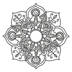 Mandala Floral #12