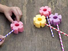 Cómo hacer unas Burbujas de Flores