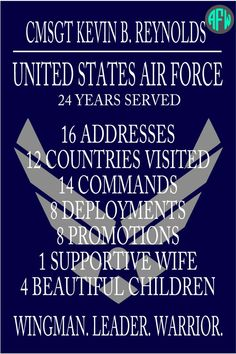 Military Retirement Plaque Personalize w/ by AFWifeCreations, $45.00