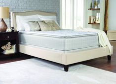 Coaster 350055QCO Marbella Ii Collection Queen Size 13 Pillow Top Mattress with 2 Layers Ultra Soft Quilt Foam Tack N Jump Quilting Foam Topper and Foam Encased Edge Support In White ** Click image for even more details. (This is an affiliate link). Full Mattress, Mattress Sets, Pillow Top Mattress, Best Mattress, Bedroom Furniture Stores, Furniture Deals, Furniture Companies, Fine Furniture, Furniture Styles