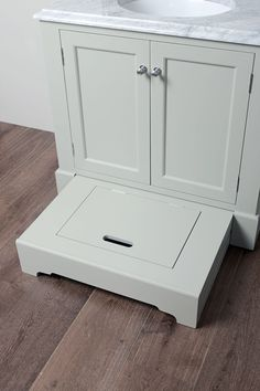 Lower Bathroom Cabinet Drawer Amp A Step Stool It Slides