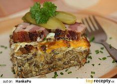 Zapečená čočka s ovesnými vločkami Meatloaf, Menu, Cooking, Food, Diet, Menu Board Design, Kitchen, Essen, Meals