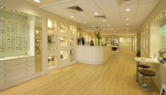INSIGHTS: modern optical shop design. Very sleek