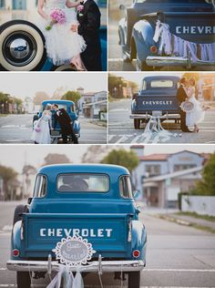 old trucks will definitely be a part of my big day