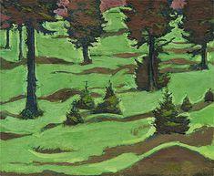 Meadow, Koloman Moser (1868 - 1918)