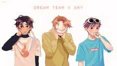 My Dream Team, Just Dream, Minecraft Fan Art, Wolf Pictures, Juicers, Cute Patterns Wallpaper, Dream Art, Number Two, Friend Pictures