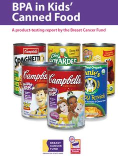 Report Uncovers BPA In Canned Food Marketed To Kids